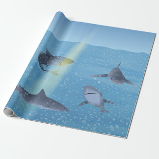 Sharks Wrapping Paper