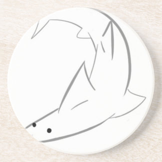 Sharky Friend Drink Coasters