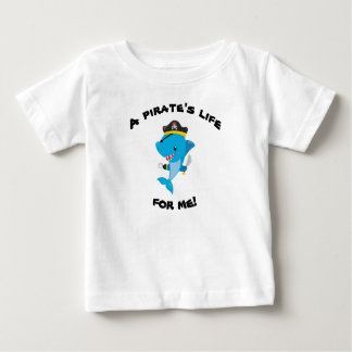 Sharky Pirate Life Baby T-Shirt