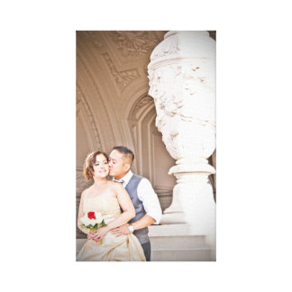 Sharnae + Co's Wedding Stretched Photo Canvas Gallery Wrap Canvas
