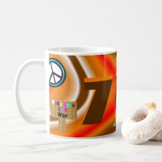 Sharnia's '70s Coloured Background' Mug