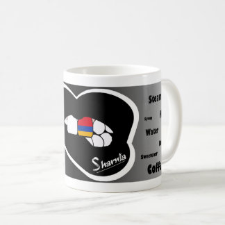 Sharnia's Lips Armenia Mug (Blk Lip)