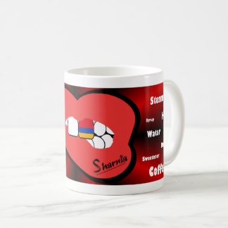 Sharnia's Lips Armenia Mug (RED Lip)