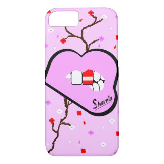 Sharnia's Lips Austria Mobile Phone Case (Lp Lips)