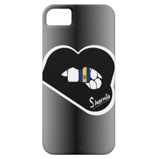 Sharnia's Lips Barbados Mobile Phone Case Blk Lip