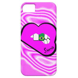 Sharnia's Lips Brazil Mobile Phone Case (Pk Lips)