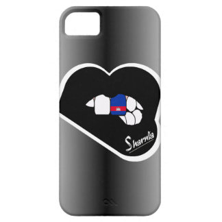 Sharnia's Lips Cambodia Mobile Phone Case Blk Lip