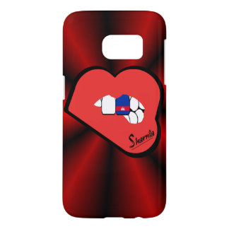 Sharnia's Lips Cambodia Mobile Phone Case Rd Lips