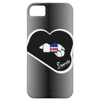 Sharnia's Lips Costa Rica Mobile Phone Case Blk Lp