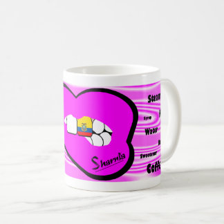 Sharnia's Lips Ecuador Mug (PINK Lip)
