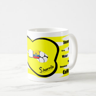 Sharnia's Lips Ecuador Mug (YEL Lip)