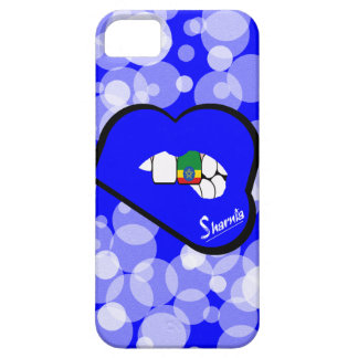 Sharnia's Lips Ethiopia Mobile Phone Case Blu Lip
