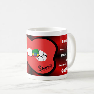 Sharnia's Lips Ethiopia Mug (RED Lip)