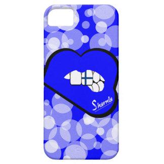 Sharnia's Lips Finland Mobile Phone Case Blu Lips