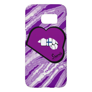 Sharnia's Lips Finland Mobile Phone Case (Pu Lips)