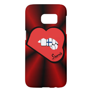 Sharnia's Lips Finland Mobile Phone Case (Rd Lips)