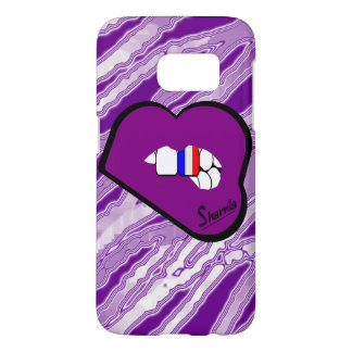 Sharnia's Lips France Mobile Phone Case (Pu Lips)