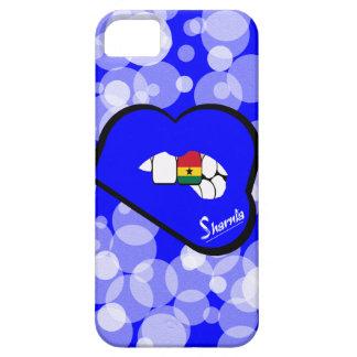 Sharnia's Lips Ghana Mobile Phone Case (Blu Lips)