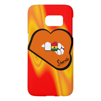 Sharnia's Lips Ghana Mobile Phone Case (Or Lips)