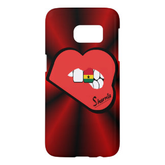Sharnia's Lips Ghana Mobile Phone Case (Rd Lips)