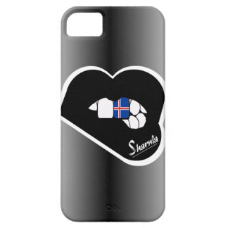 Sharnia's Lips Iceland Mobile Phone Case Blk Lips