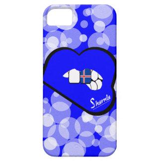 Sharnia's Lips Iceland Mobile Phone Case Blu Lips