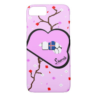 Sharnia's Lips Iceland Mobile Phone Case (Lp Lips)