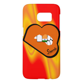Sharnia's Lips India Mobile Phone Case (Or Lips)