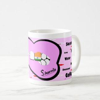 Sharnia's Lips India Mug (LT PINK Lip)