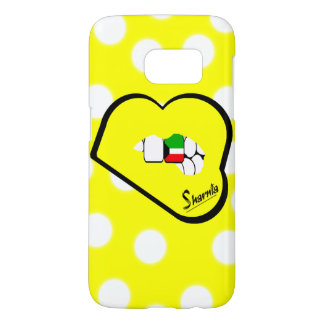 Sharnia's Lips Kuwait Mobile Phone Case (Yl Lips)
