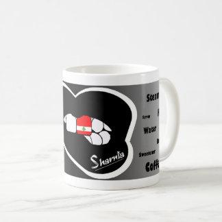 Sharnia's Lips Lebanon Mug (Blk Lip)