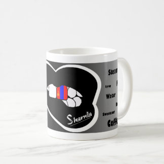 Sharnia's Lips Mongolia Mug (Blk Lip)