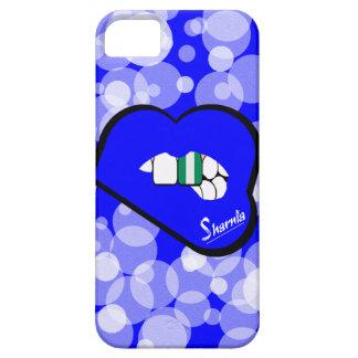 Sharnia's Lips Nigeria Mobile Phone Case Blu Lips