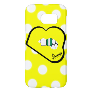 Sharnia's Lips Nigeria Mobile Phone Case (Yl Lips)