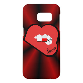 Sharnia's Lips Poland Mobile Phone Case (Rd Lips)