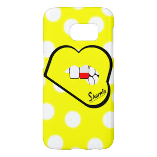Sharnia's Lips Poland Mobile Phone Case (Yl Lips)