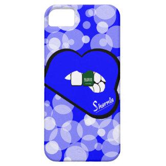 Sharnia's Lips Saudi Arabia Mobile Phone Case Blu