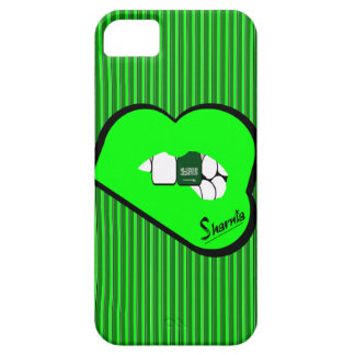 Sharnia's Lips Saudi Arabia Mobile Phone Case Gr L