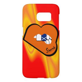 Sharnia's Lips Scotland Mobile Phone Case Or Lips