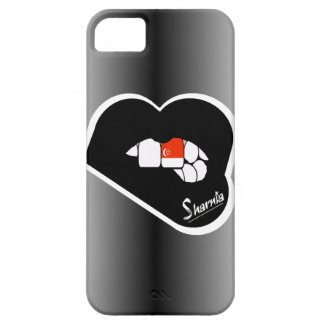 Sharnia's Lips Singapore Mobile Phone Case Blk Lip