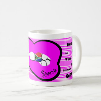 Sharnia's Lips South Africa Mug (PINK Lip)