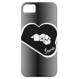 Sharnia's Lips South Korea Mobile Phone Case Blk L