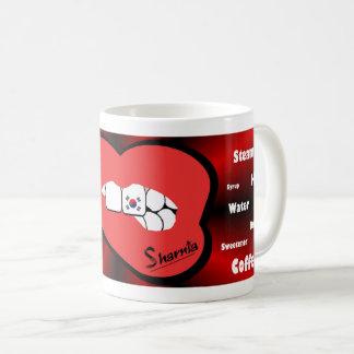Sharnia's Lips South Korea Mug (RED Lip)