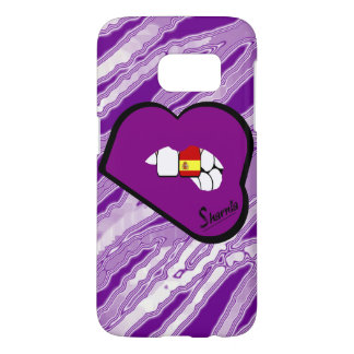Sharnia's Lips Spain Mobile Phone Case Pur Lp