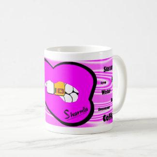 Sharnia's Lips Sri Lanka Mug (PINK Lip)