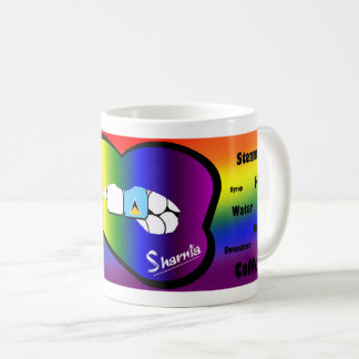 Sharnia's Lips St Lucia Mug (RB Lip)