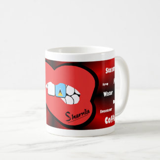Sharnia's Lips St Lucia Mug (RED Lip)