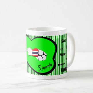 Sharnia's Lips Thailand Mug (GREEN Lip)