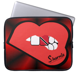 Sharnia's Lips Trinidad & Tobago Laptop Sleeve ReL
