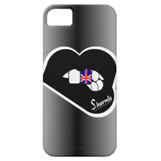 Sharnia's Lips UK Mobile Phone Case (Blk Lips)
